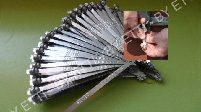 Sigilli A Fascetta Metallo Globeseal Min