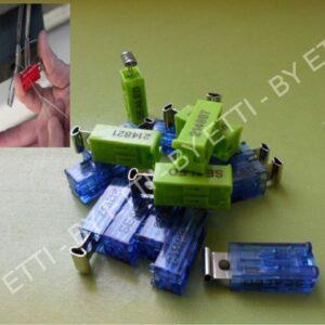 Sigillo Di Sicurezza A Filo Box Wireseal Mars  Confezione Da 500 Pezzi