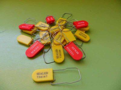 Sigilli A Lucchetto Plastica Metallo