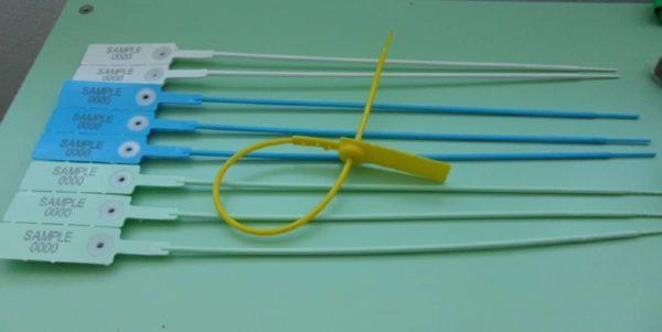 Sigilli In Plastica Regolabile Tubolare Mercurius40 Min