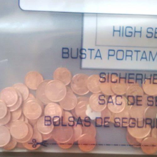 BUSTA PORTA MONETE PARTICOLARE FORO