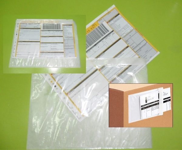 Busta Portadocumenti Packing List Autoadesiva