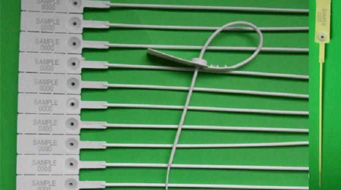 SIGILLI IN PLASTICA REGOLABILI TUBOLARI INSERTO METALLICO MERCURIUS  30