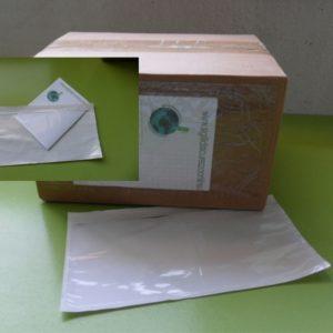BUSTA PORTA-PACKING-LIST, Buste Portadocumenti Adesive 235x125mm DA 1000 PEZZI