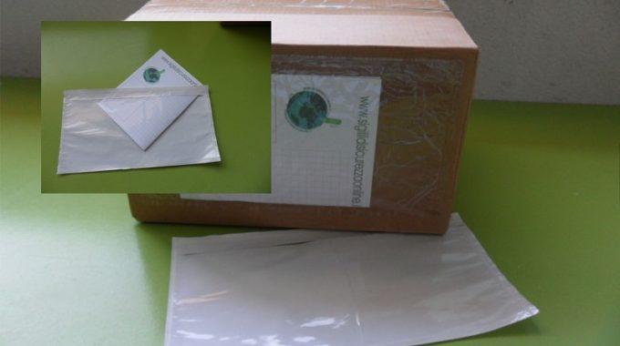 BUSTE PORTA-PACKING-LIST KHALI, Buste Portadocumenti Adesive  235×125 Mm