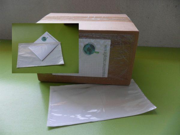 Busta Portadocumenti Packing List Piccola Autoadesiva