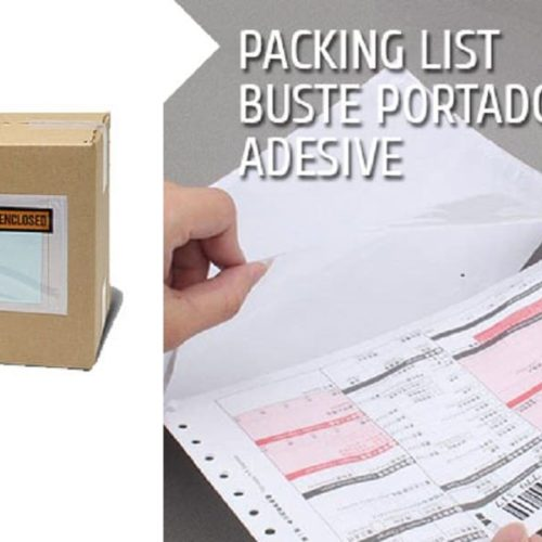 Packing List Buste Portadocumenti Adesive