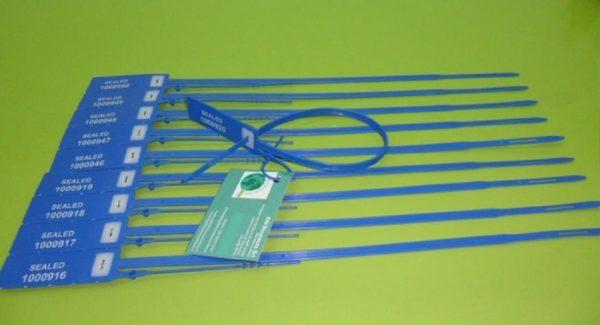 Sigillo In Plastica Regolabile Coda Cartellino Strip Min Min