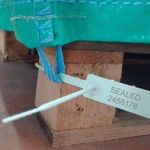 Sigillo In Plastica Di Sicurezza Mercurius Copripallet Min